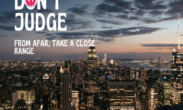 Don't judge from afar take a close range